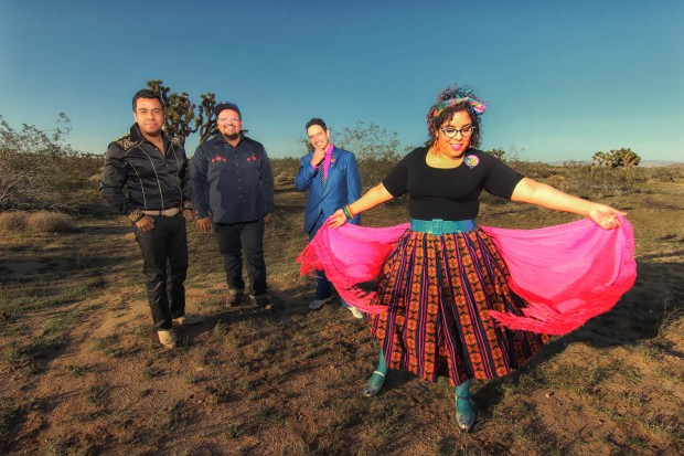 La Santa Cecilia playing World Cafe Live at the Queen in Wilmington in April