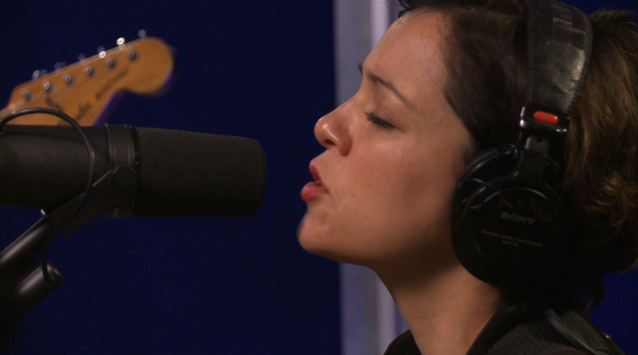 "Watch Natalia Lafourcade perform ""Hasta La Raiz"" on VuHaus from KCRW"