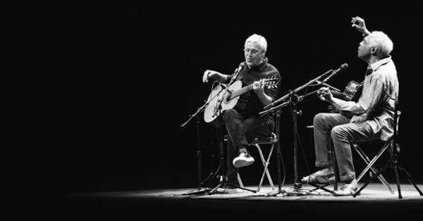 Listen to an interview with Brazilian music legends Gilberto Gil and Caetano Veloso