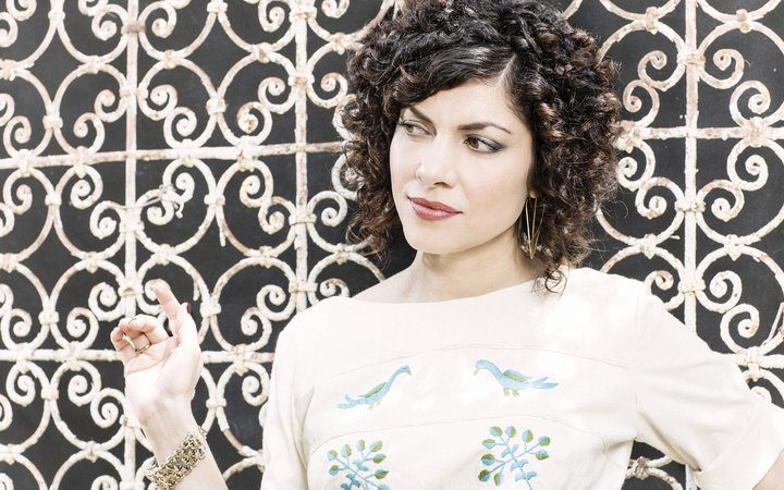 Listen to a World Cafe session with Carrie Rodriguez