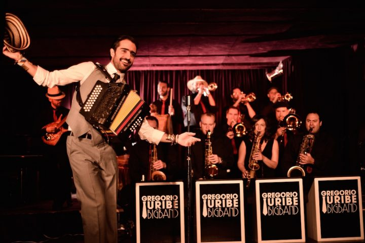 RSVP For December's Free Latin Roots Live! Dance Party with The Gregorio Uribe Big Band