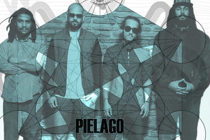 Hear the smooth roll of the snare and chunky organ riff of the Puerto Rican Reggae-Soul  band Piélago at Nuevofest